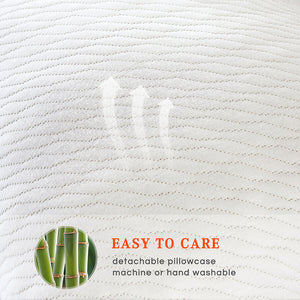 The Bamboo | Our Bamboo & Charcoal Memory Foam Adjustable Pillow