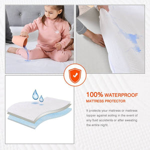 Sweet Night Topper Protector with Waterproof.
