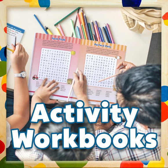Canadian Curriculum Press, Kids age 4+ will delight in solving the colourful activity books. While having fun and enjoying a challenge, early learners will also gain valuable practice in eye-hand coordination and thinking skills.