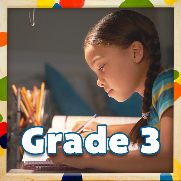 The Canadian Curriculum Press Grade 3 workbook collection builds on important skills learned in previous grades in the areas of reading, writing, and math that will allow children to flourish within the Canadian curriculum.