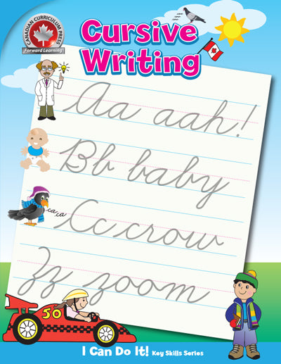 Cover of Cursive Writing book