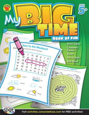 Cover of My Big Time Book of Fun age 5 plus