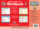 The CCP Pre-K Workbook (Floorpad - 10x13) helps children practise key skills, from reading to math and beyond, that they will learn through the Canadian curriculum. Its immersive and colourful activities will help children to identify letters, numbers, and colours; sort and compare; make patterns; develop eye-hand coordination and fine motor skills; and much more.
