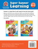 Start the new school year ready to move ahead with Canadian Curriculum Press's Kindergarten to Grade 1 Super Summer Learning workbook. With day-by-day reviews of key math and language concepts learned in kindergarten, learning checklists to give kids a sense of accomplishment, and weekly outdoor learning activities, this workbook will allow children to enjoy their summer while preparing them for what is to come in the next school year. 192 pages // ISBN: 9781487601683