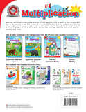 Learning multiplication facts takes practice. Encourage your child to spend a few minutes each day on this important skill. This workbook is an important tool for learning multiplication facts up to 10 x 10 using a variety of techniques: arrays, skip counting, repetition and recall, games, puzzles, and more!