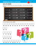 eBook Multiplication Workbook Learning multiplication facts takes practice. Encourage your child to spend a few minutes each day on this important skill. This workbook is an important tool for learning multiplication facts up to 10 x 10 using a variety of techniques: arrays, skip counting, repetition and recall, games, puzzles, and more!  64 pages // ISBN: 9781487606381