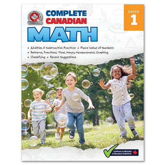 Complete Canadian Math Grade 1