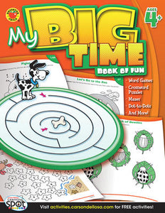My Big Time - Book of Fun, Ages 4+ - Canadian Curriculum Press