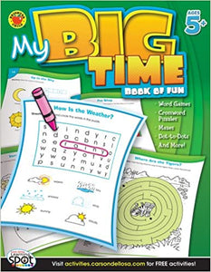 My Big Time - Book of Fun, Ages 5+ - Canadian Curriculum Press