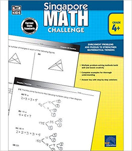 Singapore Math Challenge Workbook Grade 4+ - Canadian Curriculum Press