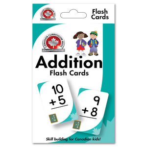 Canadian Curriculum Press Learning Flash Cards series offers a fun and fast way to master important skills such as addition, subtraction, phonics, French-English vocabulary, and much more. By reviewing the cards frequently through drills and games, children will be prepared for success in the classroom and beyond. ISBN: 9781487602574