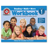 Grade 1 Workbook (Floorpad): Reading, Math and more: Colourful large-format - Canadian Curriculum Press