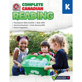 This jumbo, full-colour workbook, which includes a kindergarten skills developmental checklist, parent suggestions, and ideas for easy at-home learning activities, will give children the tools they need to build a solid foundation of early reading skills. By following the curriculum taught in Canadian schools, the lessons and activities in the Kindergarten Complete Canadian Reading workbook will give children the confidence required to excel in the classroom and beyond.​ 352 pages // ISBN: 9781770629073