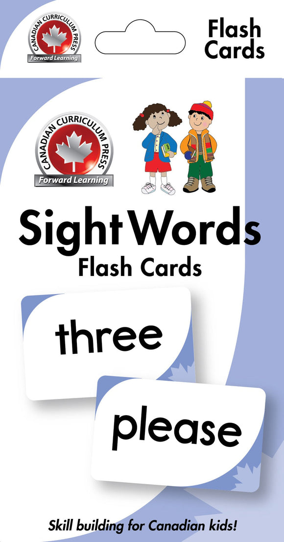 Canadian Curriculum Press Learning Flash Cards series offers a fun and fast way to master important skills such as addition, subtraction, phonics, French-English vocabulary, and much more. By reviewing the cards frequently through drills and games, children will be prepared for success in the classroom and beyond ISBN: 9781487602635