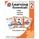 Learning Essentials Grade 2: Math, Reading, Writing - 3 Books in 1 - Canadian Curriculum Press