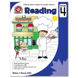 Grade 4 Reading Workbook: Reading different genres, Comprehension skills, High-interest reading and exercises - Canadian Curriculum Press