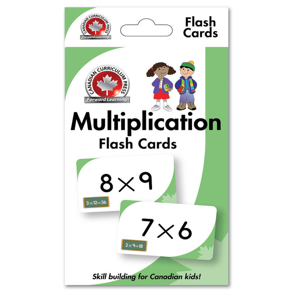 Flash cards build skills that move learning forward! The Canadian Curriculum Press (CCP) Learning Flash Cards series offers a fun and fast way to master important skills such as addition, subtraction, phonics, French-English vocabulary, and much more. By reviewing the cards frequently through drills and games, children will be prepared for success in the classroom and beyond ISBN: 9781487602604
