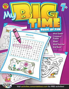 My Big Time - Book of Fun, Ages 7+ - Canadian Curriculum Press