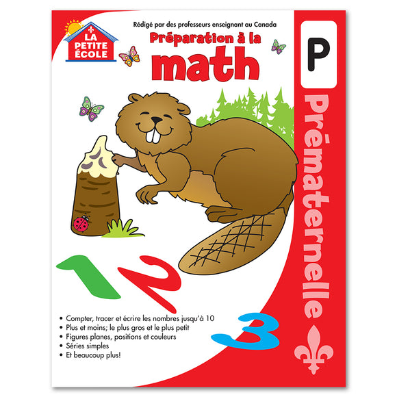Préparation à la mathématique en prématernelle │French Educational Workbooks - Canadian Curriculum Press