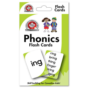 Flashcards - Phonics - Canadian Curriculum Press