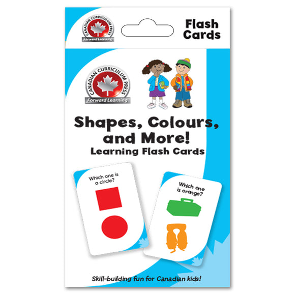 Flashcards - Shapes and Colours - Canadian Curriculum Press