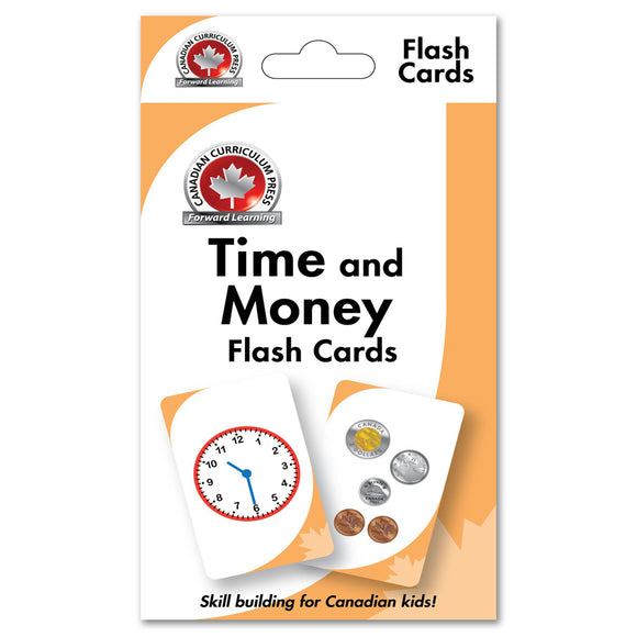 Flashcards - Time and Money - Canadian Curriculum Press