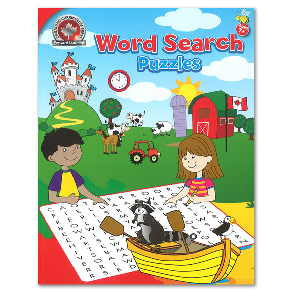 Word Search Activity Workbook - Canadian Curriculum Press