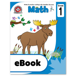 eBook Grade 1 Math Workbook - Canadian Curriculum Press