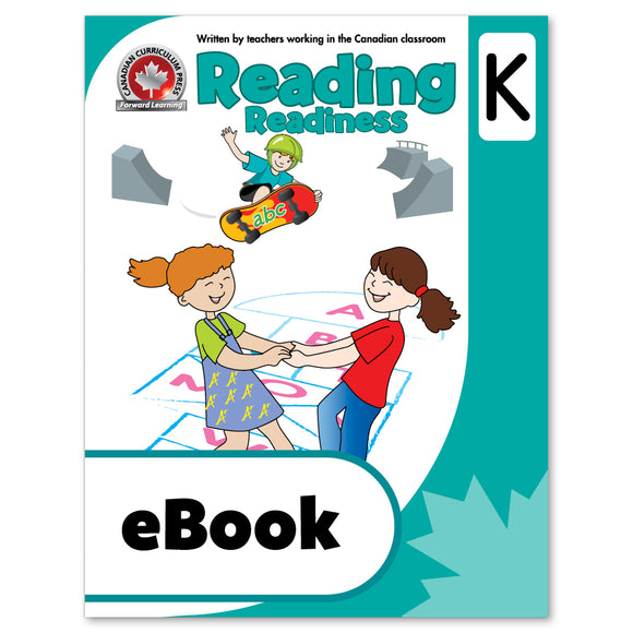 eBook Reading Kindergarten Workbook - Canadian Curriculum Press
