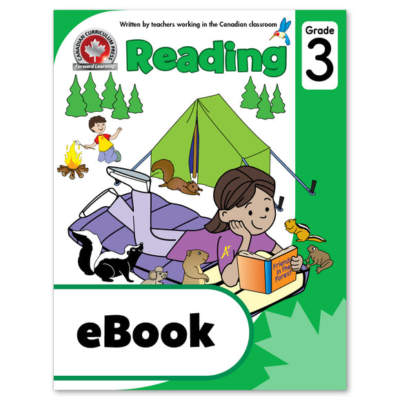 eBook Grade 3 Reading Workbook - Canadian Curriculum Press