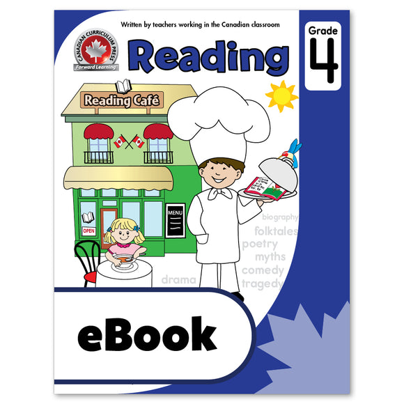 eBook Grade 4 Reading Workbook - Canadian Curriculum Press