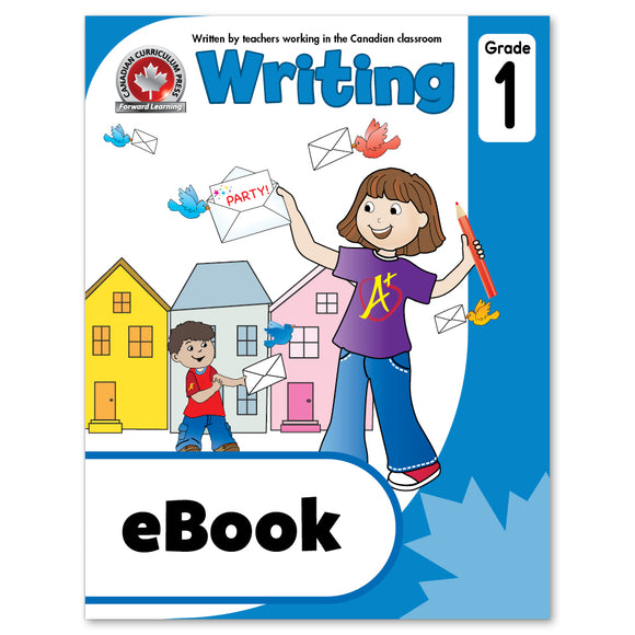 eBook Grade 1 Writing Workbook - Canadian Curriculum Press