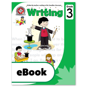 eBook Grade 3 Writing Workbook - Canadian Curriculum Press