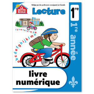 Our La Petite École workbooks are designed to support the mathematics and reading programs offered in Quebec schools. These books can be used during the summer to prepare young learners for the next grade level, or during the school year to review a specific subject. La Petite École workbooks can also be used to help teach French as a second language! They are available for pre-kindergarten, kindergarten and grade 1. Let the French fun begin! 64 page // ISBN: 9781487610159