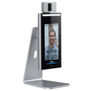 Dahua Temperature Screening Kiosk With Desk Mount - New Age Biohealth