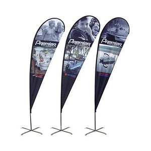 Medium(97*300cm) Teardrop Banners - New Age Biohealth