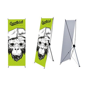 Small X-Frame Banner (60 x 160cm) - New Age Biohealth