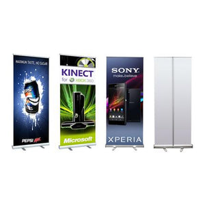 Medium Standard Pull Up Banner (120 x 200cm) - New Age Biohealth