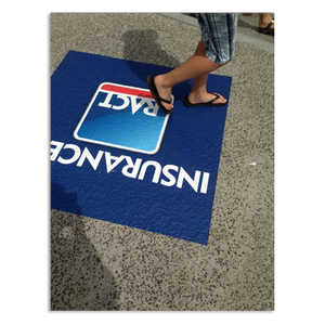 Pavement Floor Graphics - PER 50 UNITS - New Age Biohealth