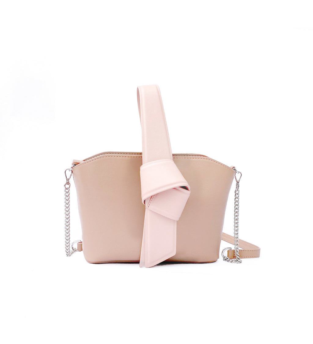 CROSS BODY BAG WITH KNOT DETAILING