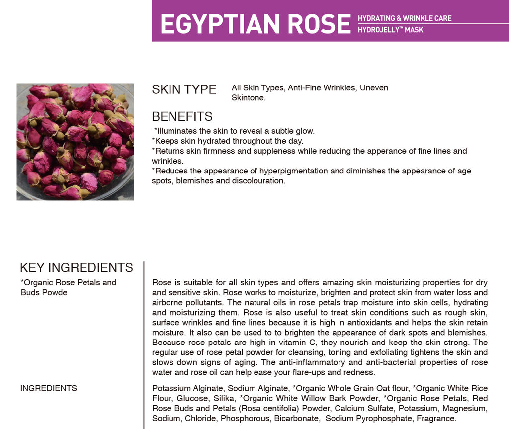 EGYPTIAN ROSE HYDROJELLY (pack of 2)