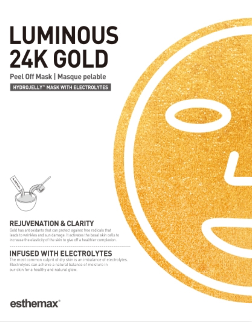 LUMINOUS 24K GOLD HYDROJELLY™ MASK (Pack of 2)