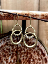 Load image into Gallery viewer, Suzy Landa Double Circle Earrings