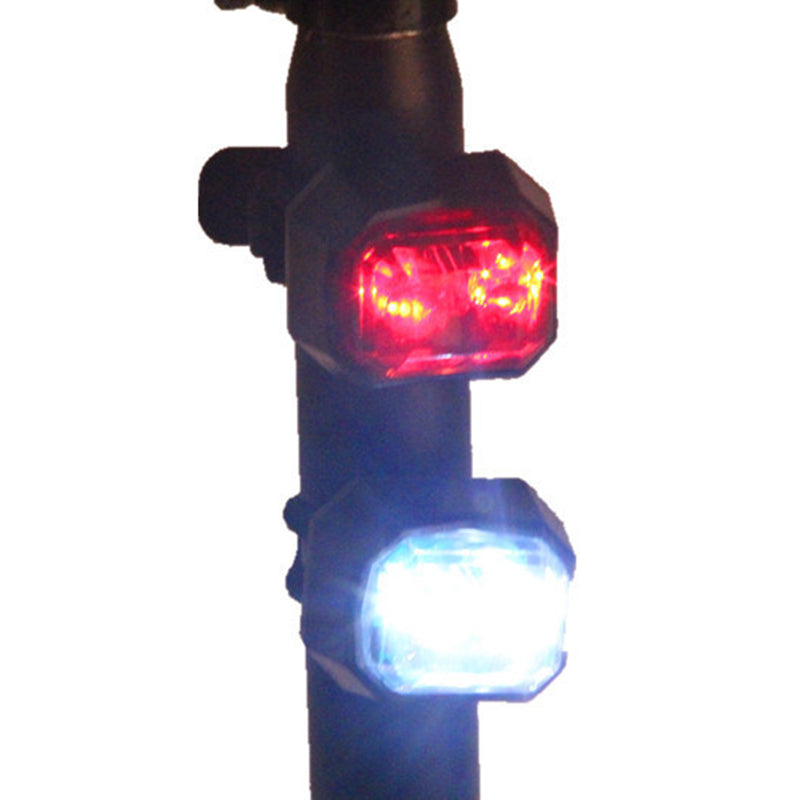 Bicycle LED Lights 2 Lasers Nighttime Mountain Bike Taillights Taillights MTB Security Warning Bicycle Rearlights Bycicl