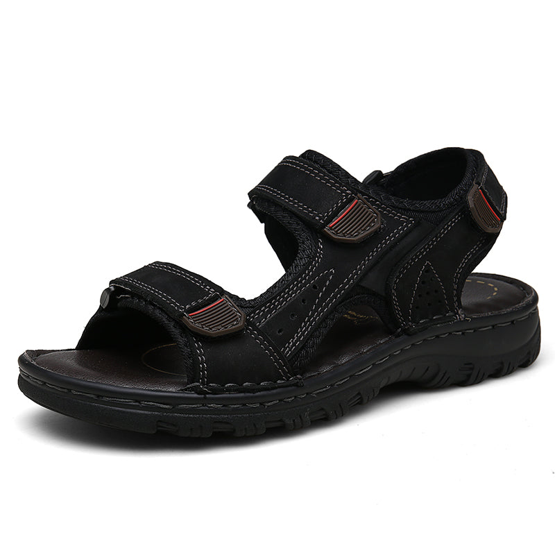 Mickcara Men's Sandals with Velcro 8801