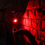Mini LED Bicycle Tail Light Usb Chargeable Bike Rear Lights IPX6 Waterproof Safety Warning Cycling Light Helmet Backpack