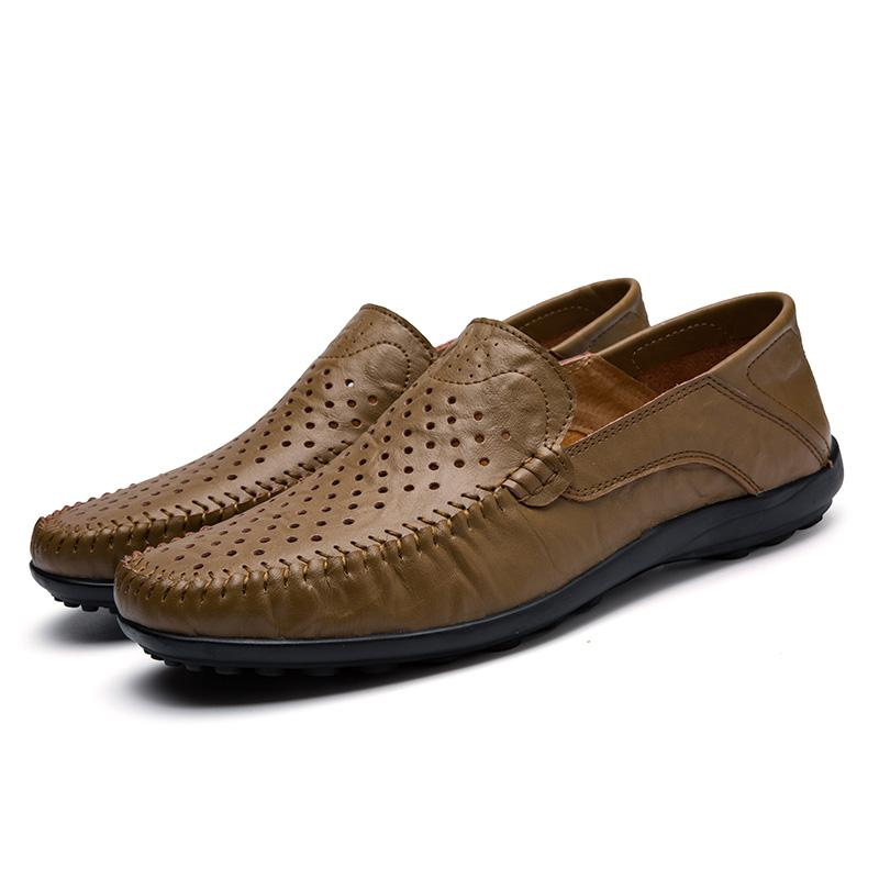 Mickcara Men's GEA 8008-1 Slip-On Loafer