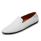 Mickcara Men's Slip-on Loafers 2067YGDRCC