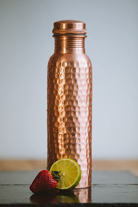 Copper Bottle Hammered - Perilla Home