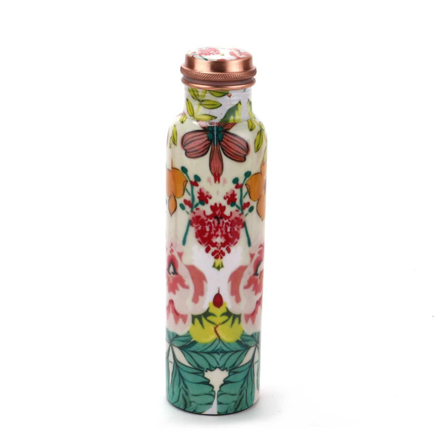 Flower Copper Bottle (1L) - Perilla Home